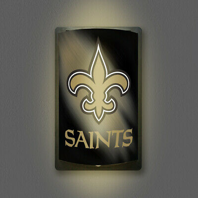 New Orleans Saints Motiglow Light Up Sign Motion Activated Nfl Lamp Night