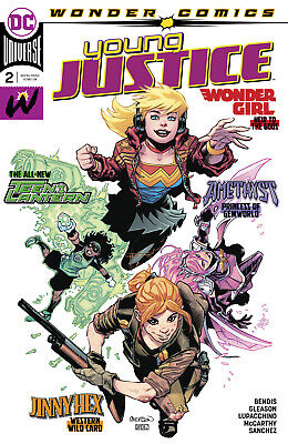 YOUNG JUSTICE #2 1st Print (WK06.19) (A/CA) Patrick Gleason
