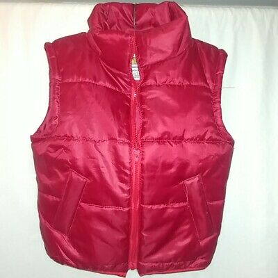 Back To The Future Kids Large Puffy Vest Costume Authentic Universal EXC