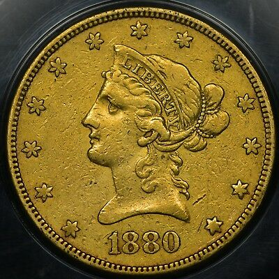 SPECIAL PRICE! 1880-O $10 Liberty Head Gold Coin - KEY DATE! GREAT DEAL!
