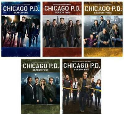 Chicago P.D. PD: The Complete Series Season 1-5 (DVD, 2018, 27-Disc Box Set) New