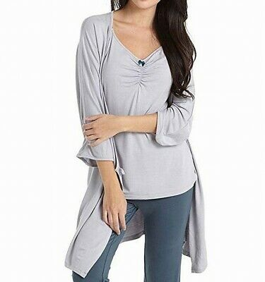 634e03e266b Mothers En Vogue NEW Gray Womens Size Small S Pajama Sets Sleepwear $78- 279