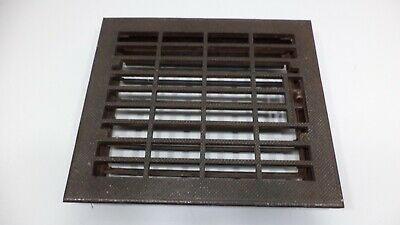 Antique Vintage Art Deco Cast Iron Floor Wall Return Register Grate Vent Used
