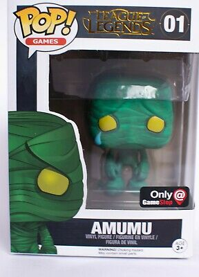 League Of Legends Amumu Funko Pop! #01 Gamestop Exclusive