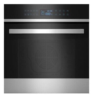 """Empava 24"""" 9 Cooking Functions w/ RotisserieElectric Convection Single Wall Oven"""