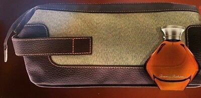 TOMMY BAHAMA FOR HIM Dopp Kit, Shaving Travel Toiletry Case Bag new +3.4 oz dd65372e92