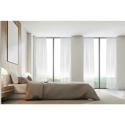 NEW Hotel Collection Luxe S Fold Sheer Curtain By Spotlight