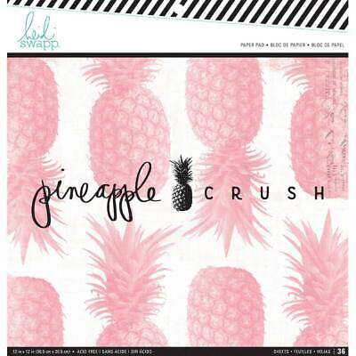 NEW Heidi Swapp Pineapple Crush Paper Pad By Spotlight