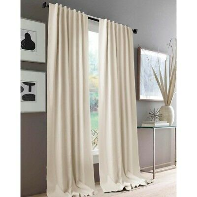 NEW KOO Elite Linen Concealed Tab Top Curtains By Spotlight