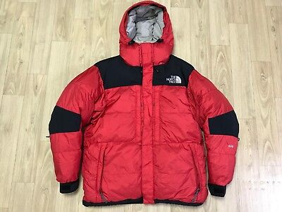 The North Face Summit Series Arctic Baltoro 600 Fill Goose Down Parka Red  Large 197adc5d8