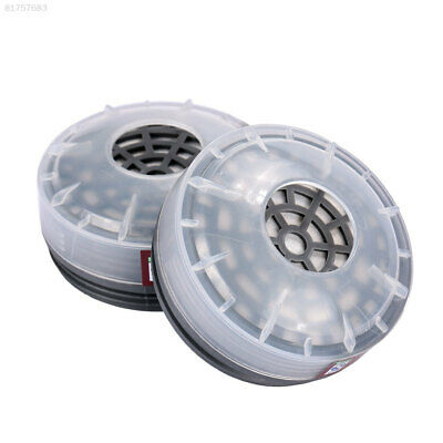 CB77 2pcs Filters Boxes Mask Replacement Cartridges Safety Industrial