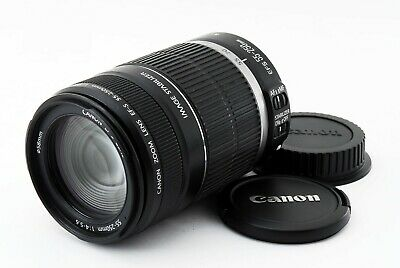 Canon EF-S 55-250mm f/4-5.6 IS Lens from Japan