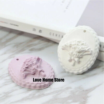 hanging Lavender Candle Soap Mould Chocolate Candy Sugar Cake Silicone Molds