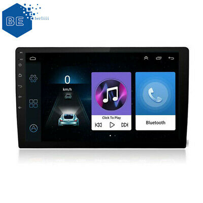 "Android 8.1 10.1"" Quad Core 2 Din Car Stereo Radio GPS Wifi Touch MP5 Player 16G"