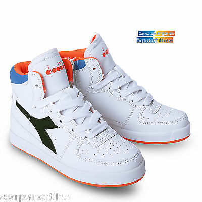 reputable site 11f59 3fb9b SCARPE SNEAKERS Diadora Bambino Mi Basket Ii Jr C3129