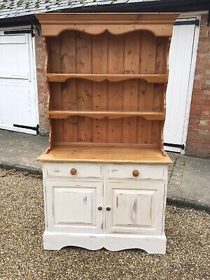 Solid Pine Farmhouse Dresser, Shabby Chic.