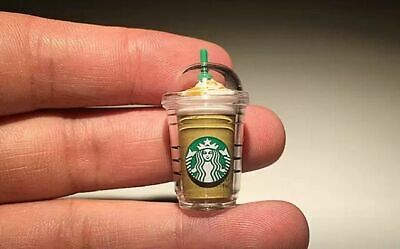 Miniature Starbucks Beverage Bottles Great for Coles Little Shop Fans