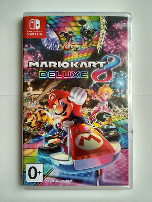 Mario Kart 8 Deluxe Nintendo Switch PAL Brand New Factory Sealed