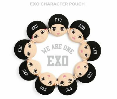 Exo Sm Official Goods Character Pouch + Photocard Photo Card New