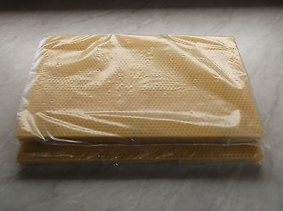 20  National Bee Hive Brood DN4 wired Foundation Wax