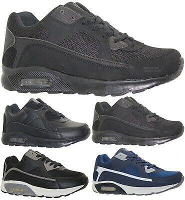 Mens Running Comfy Trainers Fashion Casual Lace Gym Walking Sports Shoes Size