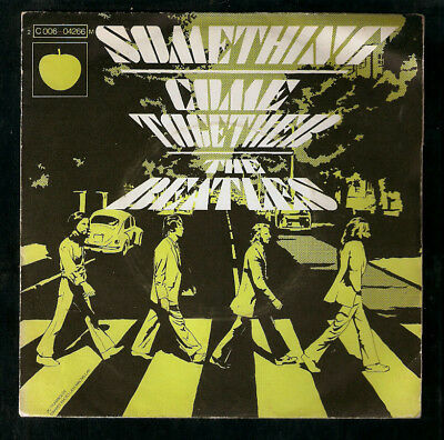 THE BEATLES,Something / Come together.FRENCH 45 P/Sleeve.APPLE original
