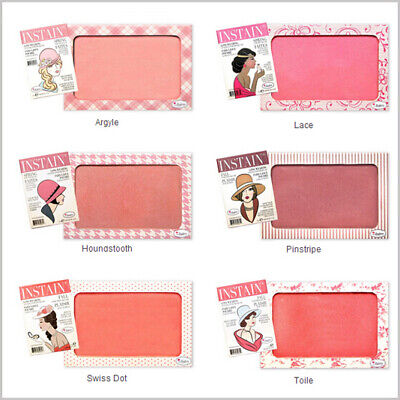The Balm Instain Blush Long Wearing Powder staining - Argyle Toile Lace Pink