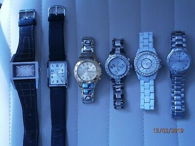 Watches Joblot Some Working Products Are Sold Without Limitations Jewellery & Watches Watches, Parts & Accessories