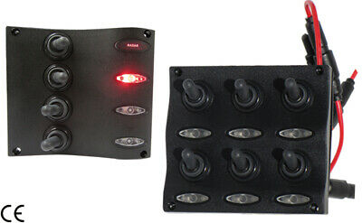 Panel with Waterproof Switches