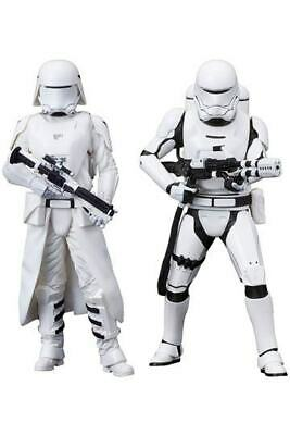 First Order Snowtrooper & Flametrooper  2 Statues Artfx+ Star Wars Episode Vii