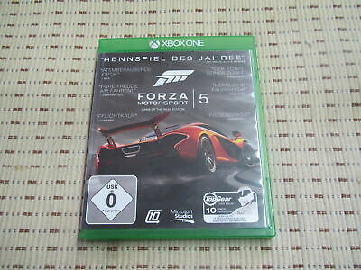 Forza Motorsport 5 Game of the Year Edition für Xbox One XboxOne *OVP*