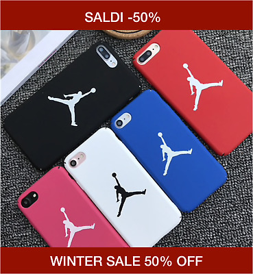WINTER SALE Cover Case Apple iPhone XS XSMax XR X 8 7 6S 6 Nike Jordan Logo