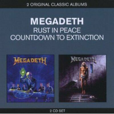 Megadeth - Classic Albums: Countdown to Extinction/Rust in Peace [CD]