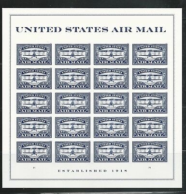 US 2018 AIR Mail Scott #5281 Centennial Blue 20 Mint Nh Fvf Forever