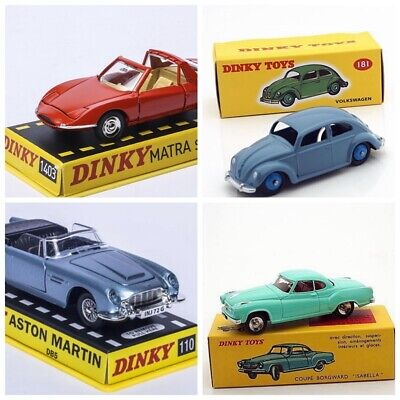 1/43 Dinky Toys Big Sale Limited Quqntity Die-cast  549 & 181 & 1403 & 110 blue