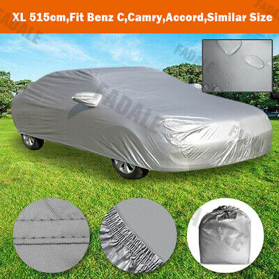 XL Large Universal Full-size Car Cover Water Resistant UV Protection WCS3S