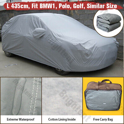 Waterproof Car Cover Universal Fit For Mini Cooper Cotton Lined Heavy Duty WCC0P
