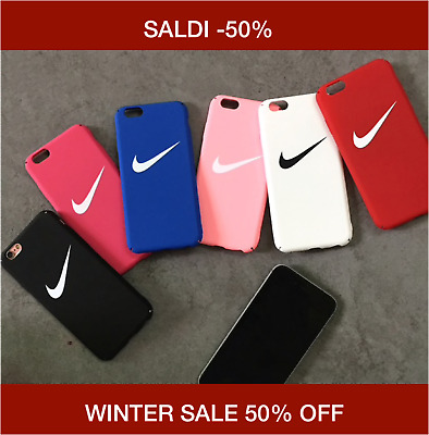 WINTER SALE Cover Case Apple iPhone XS XSMax XR X 8 7 6S 6 Nike Logo