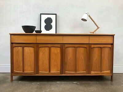 Vintage 1970s Nathan Teak Sideboard. Circles Danish Retro. G Plan. DELIVERY