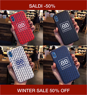 WINTER SALE Cover Case Apple iPhone XS XSMax XR X 8 7 6S 6 Balenciaga
