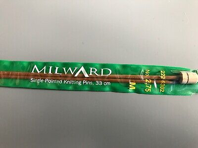 Milward - Bamboo Knitting Needles - 33cm - No. 2,75 (2226302)
