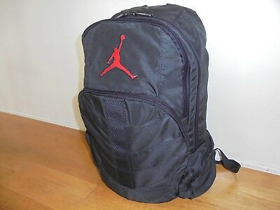 NIKE JORDAN JUMPMAN DAYBREAKER YOUTH BACKPACK BLACK RED Laptop ... 930ff38955179