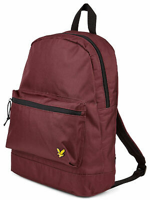 e58277a87993 NEW MENS LYLE   Scott Green Core Logo Polyester Backpack Backpacks ...