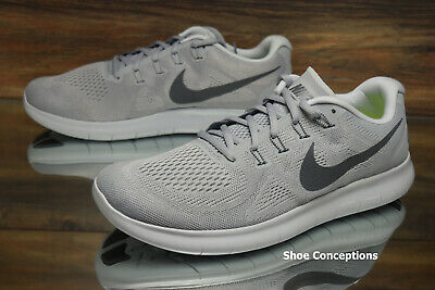 f132e6914cc Nike Free RN 2017 Running Shoes Wolf Grey 880839-010 Men s Multi Size NEW