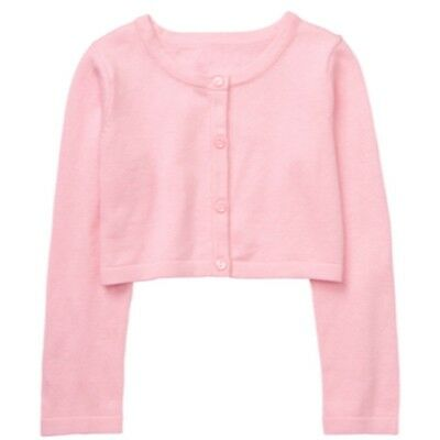NWT Gymboree Girl 2T 5T DRESSED UP SHOP Pink Classic Cardigan Shrug NEW  EASTER f45627070
