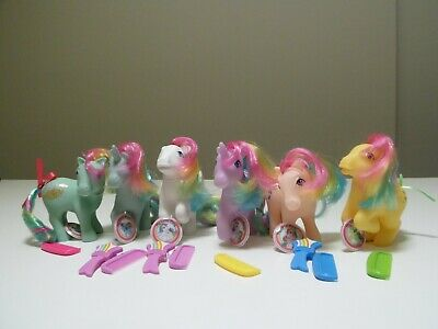 My Little Pony 35th Anniversary Collection * 6 Rainbow Ponies * G1 Reproduction
