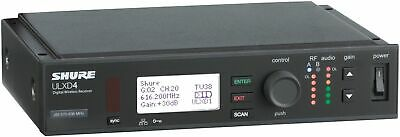 Shure ULXD4 Digital Wireless Receiver - H50 Band -  New Sealed