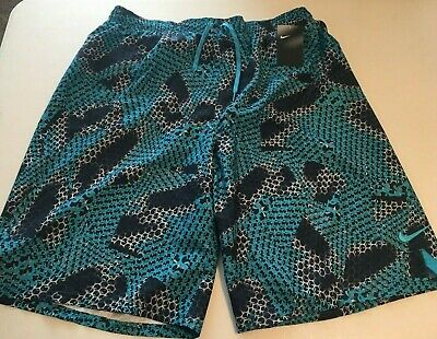 4863f0684a NIKE Men's Big & Tall Swim Trunks Board Shorts SIZE - 2XLT Turquoise/Blue  NWT