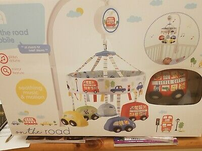 Mothercare soothe musical baby cot mobilebrand new in box never used