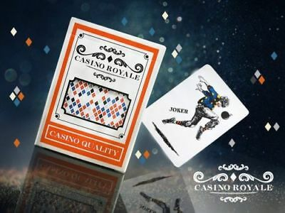 Casino Royale Playing Cards Refined Limited Rare Custom Pro Plastic not Bicycle
